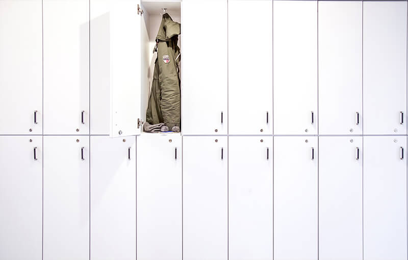 The Mill lockers