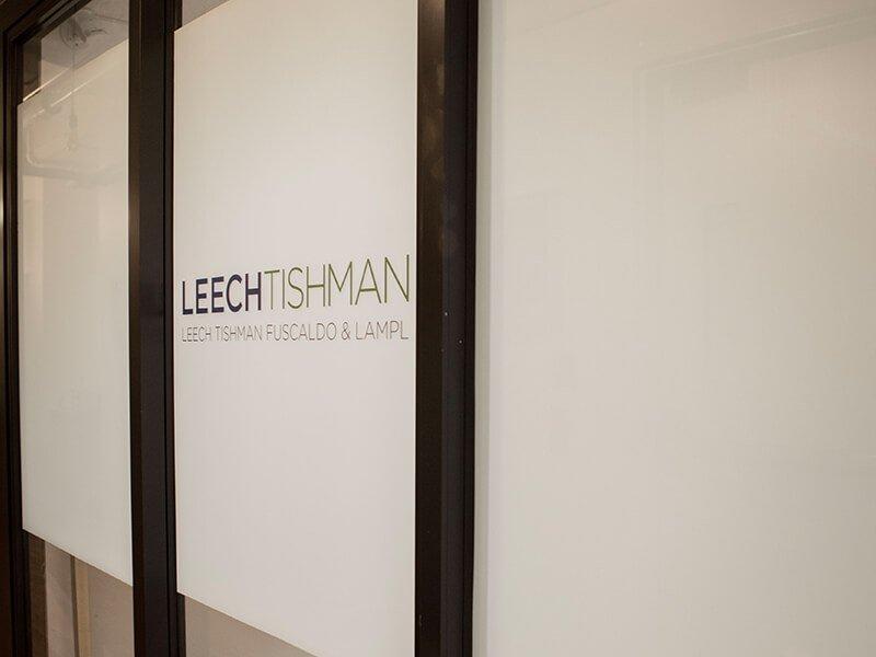 Leech Tishman office at The Mill