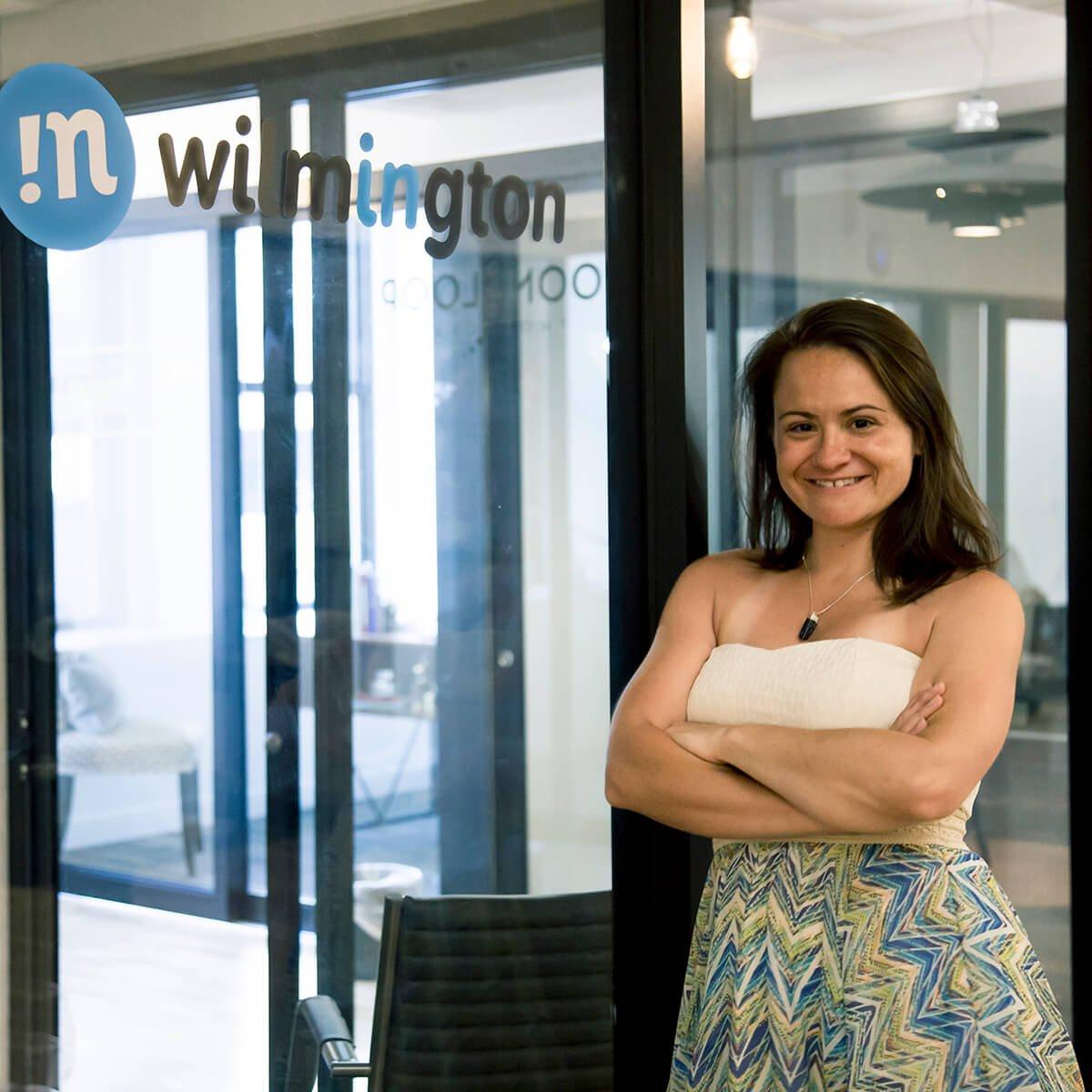The Mill member, Brianna Hansen of InWilmington